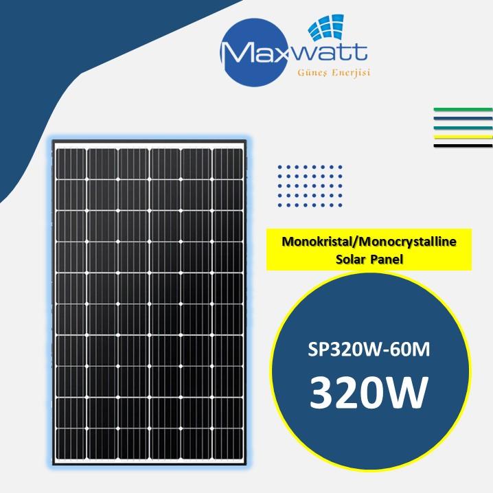 Monokristal Solar Panel 320W 60 Hücre