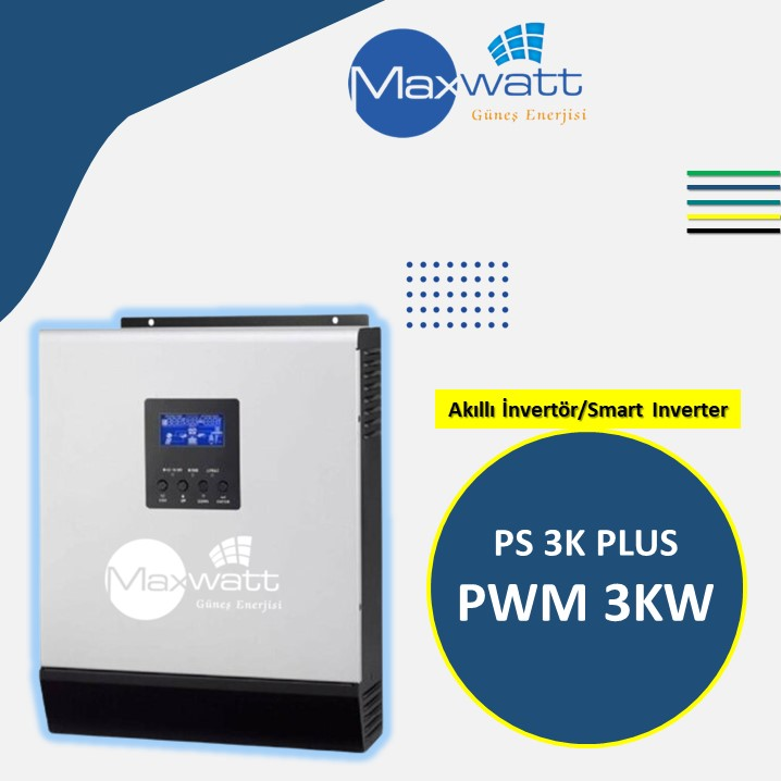Akıllı İnvertör PWM 3KW