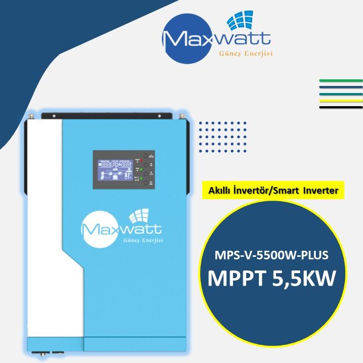 Akıllı İnvertör MPPT 5,5KW
