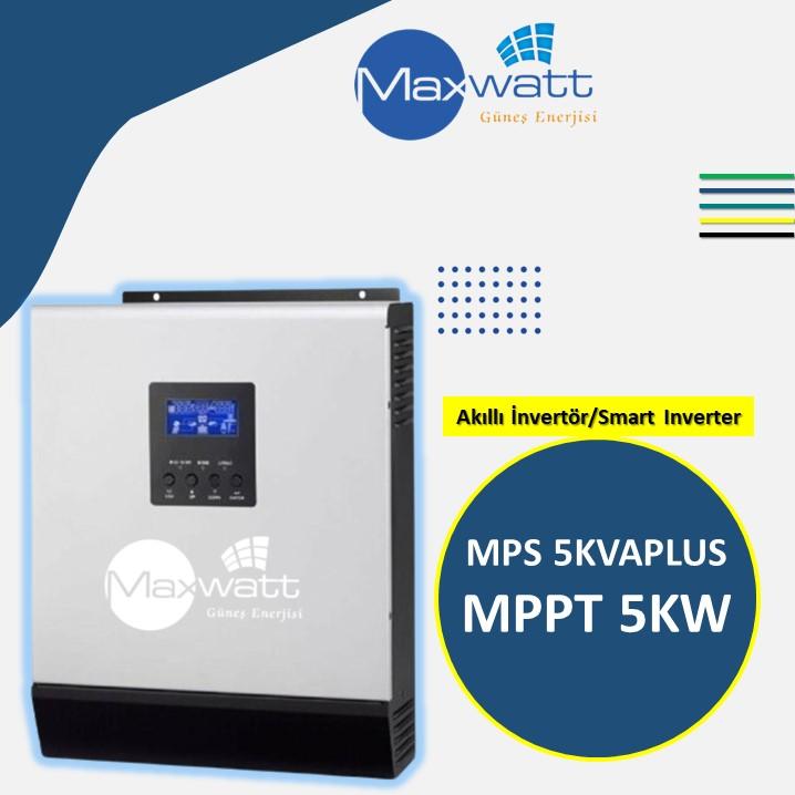 Akıllı İnvertör MPPT 5KW